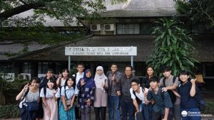 Gambar 5. Kunjungan Mahasiwa Chuo University ke Teknik Lingkungan ITB